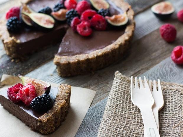 Lentilha é usada na preparação da torta de chocolate (Foto: Divulgação)