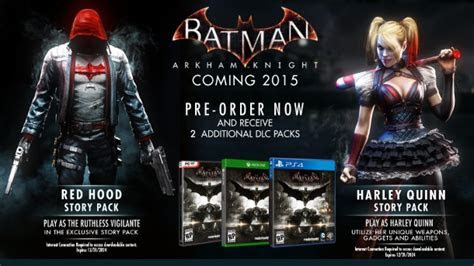 Red Hood Joins Batman: Arkham Knight for PS4 and Xbox