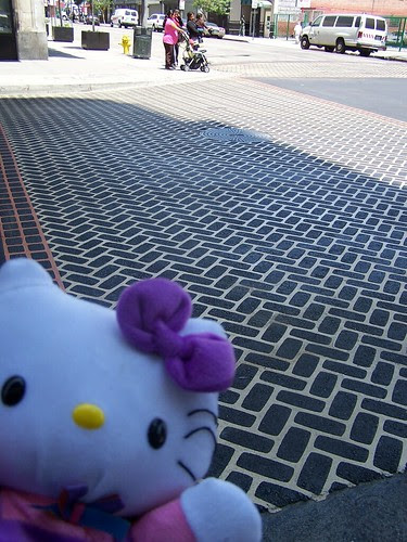 hk at new crosswalk at 5th & Main