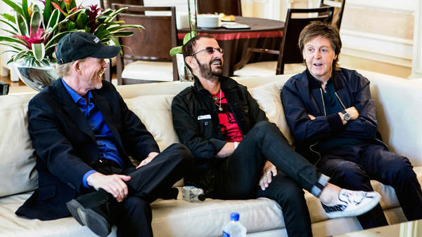 Resultado de imagen de Paul McCartney and Ringo Starr recall simpler times in 'Eight Days a Week'