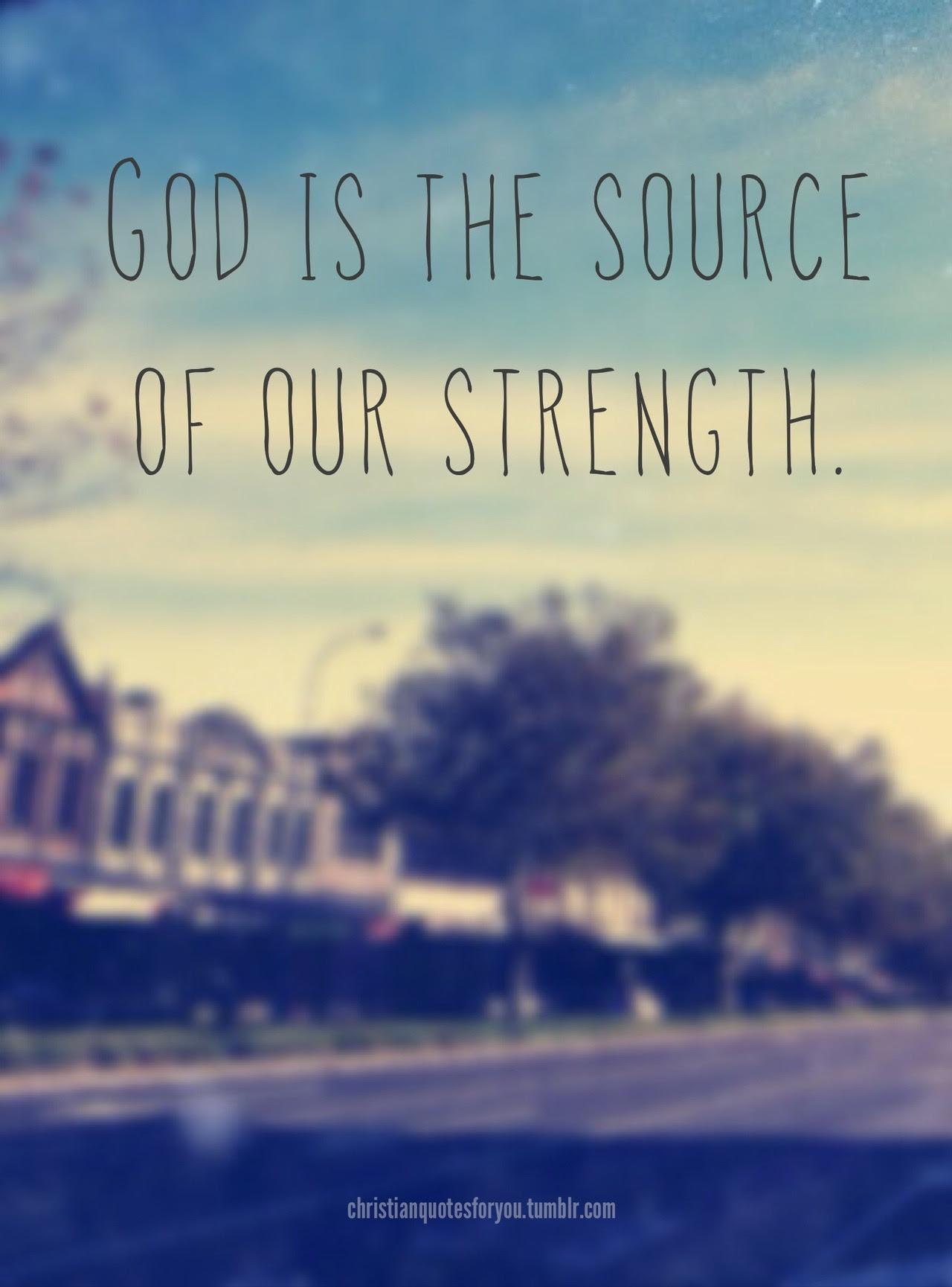 Christian Inspirational Quotes For Strength. QuotesGram