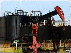 An oil pump in Venezuela