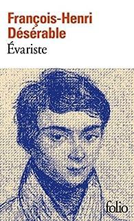 """Résultat de recherche d'images pour """"Évariste (roman)"""""""