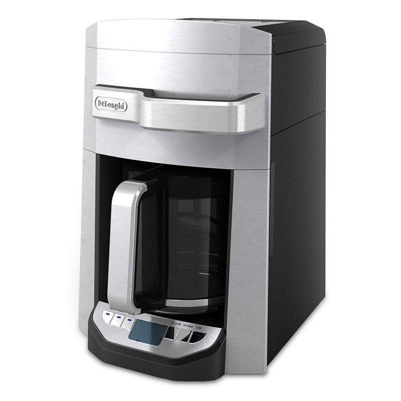 DeLonghi 14-cup Coffee Maker, Grey