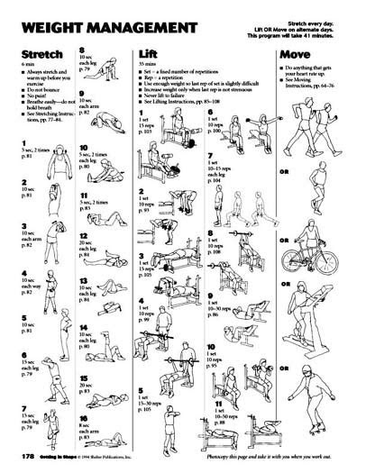 Weight Training Programs Men - Joey Garcia