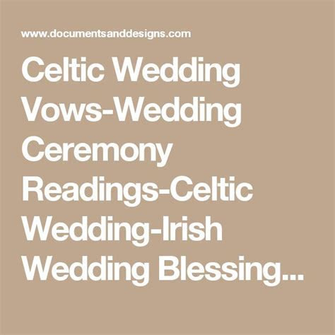 Best 25  Irish wedding blessing ideas on Pinterest