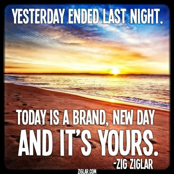 Today Is A New Day Quote Quote Number 692993 Picture Quotes