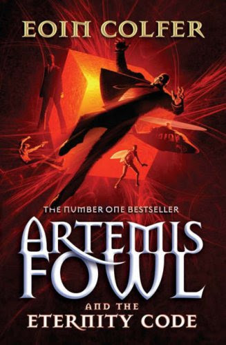 Book Review: The Eternity Code (Artemis Fowl, Book 3), By Eoin Colfer Cover Art