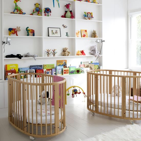 Twin nursery | Children's room | Nursery ideas | Image | Housetohome
