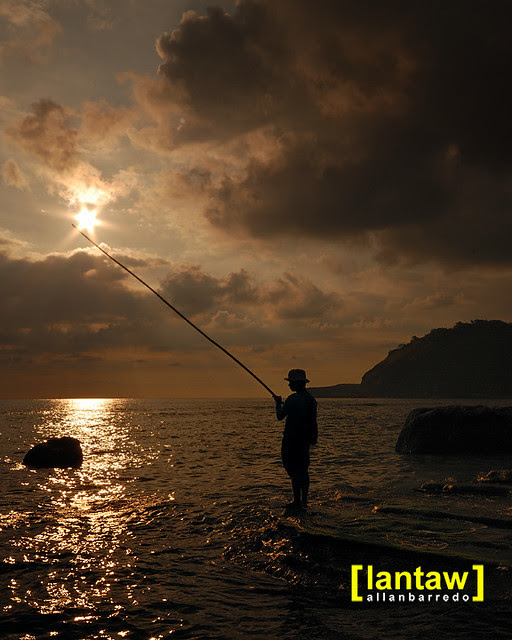 Capones Sunset Fisherman