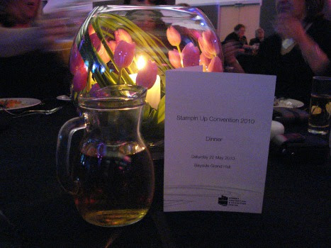 Convention - awards dinner table