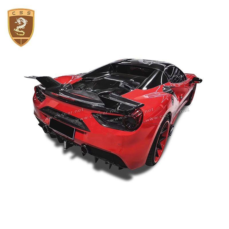 Ferrari 488 spider MANSORY spoiler