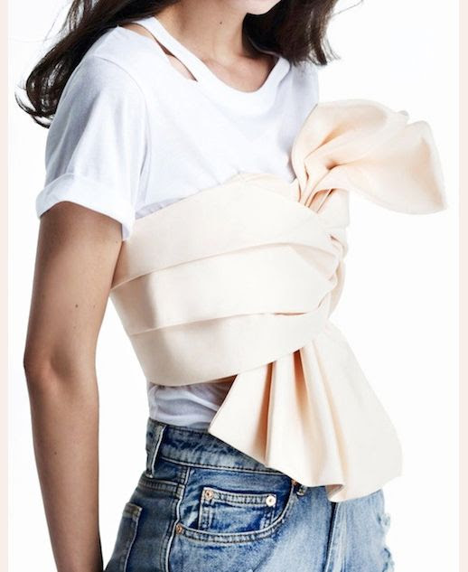 Le Fashion Blog New Way To Wear Cameo Tiered Bustier Crop Top White Cut Out Tee High Waist Jeans Nasty Gal In A Slash Tee Summer Style Inspiration photo Le-Fashion-Blog-New-Way-To-Wear-Cameo-Tiered-Bustier-Crop-Top-White-Cut-Out-Tee-High-Waist-Jeans.jpg
