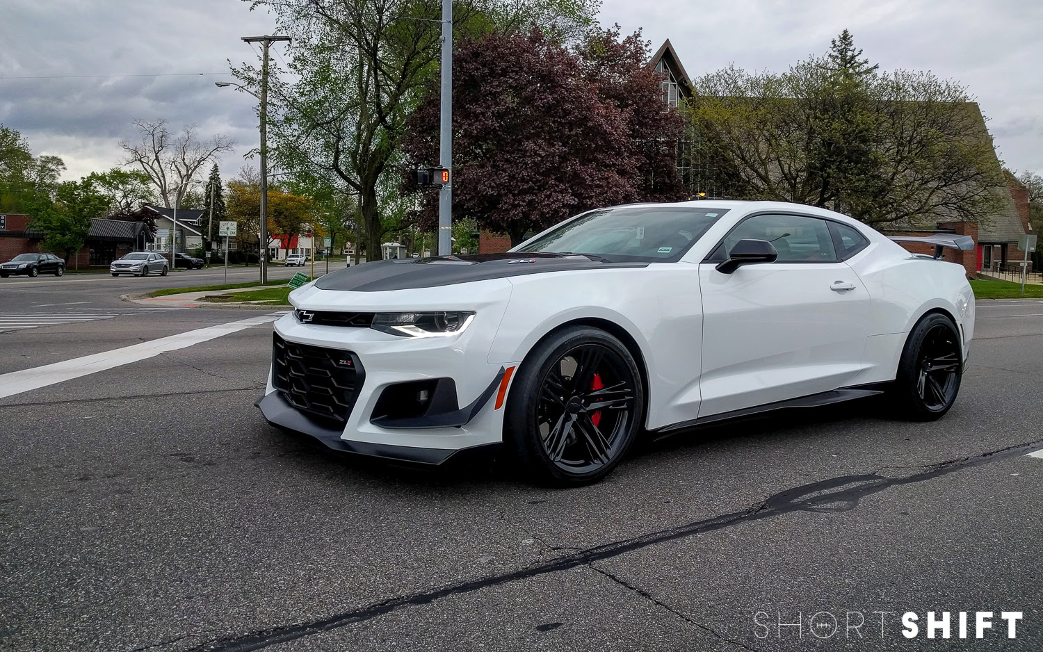 Spotted! 2018 Chevrolet Camaro ZL1 1LE