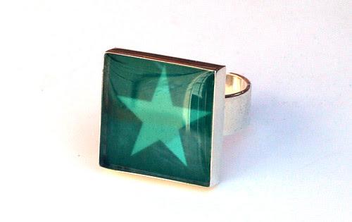 Fantastic resin ring