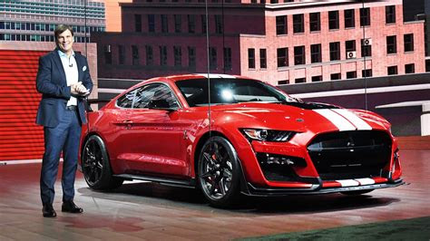 monster mustang shelby gt premieres  detroit auto show