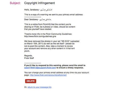 Flickr censors SS officers pix موقع فليكر يمسح صور ضباط أمن الدولة