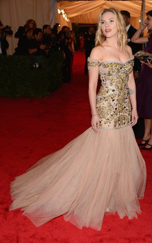 Costume Institute Gala Met Ball - May 7, 2012, Scarlett Johansson