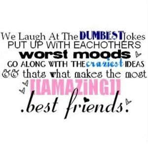 We Laugh At The Dumbest Jokes Put Up With Eachothers Worst Moods