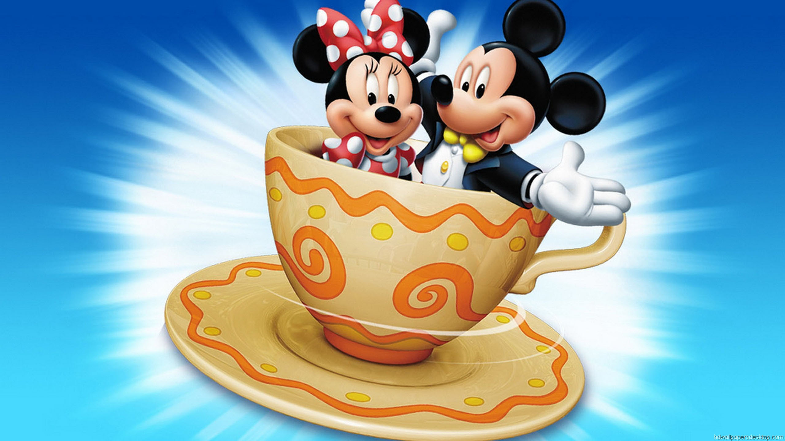 Mickey And Minnie Mouse Wallpaper 2560x1440