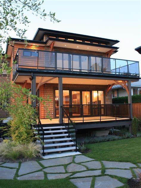 stunning glass balcony house design ideas style