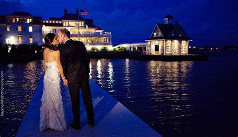 pin  allure films  wedding venues waterfront wedding