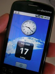 Android Phone HT03-A (NTT Docomo)