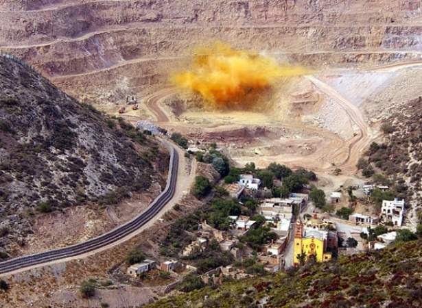 La minera San Xavier. Foto: afectadosambientales.org