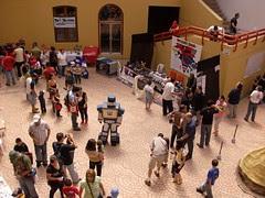 Ticobot 2008 - Área de patrocinadores