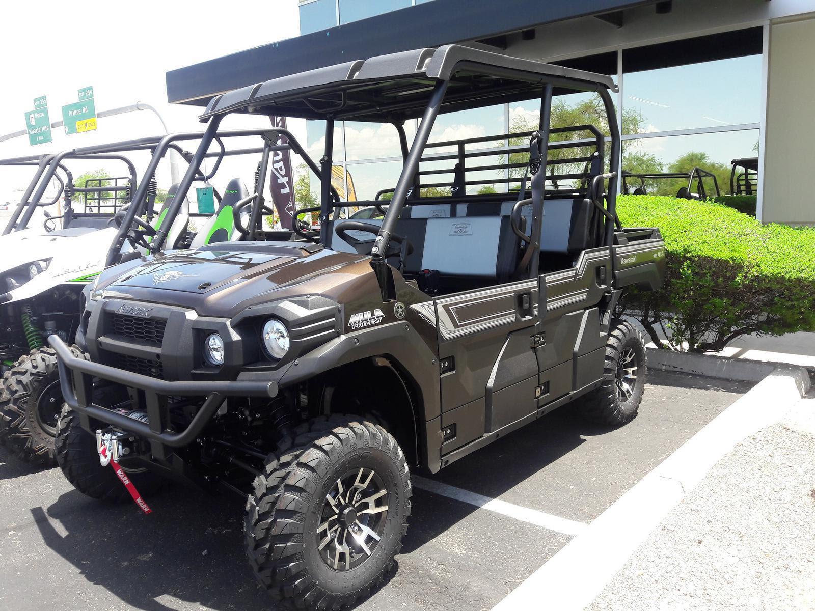 2020 Kawasaki Mule Pro Fxt Ranch Edition