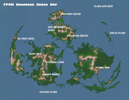 Ff7 World Map