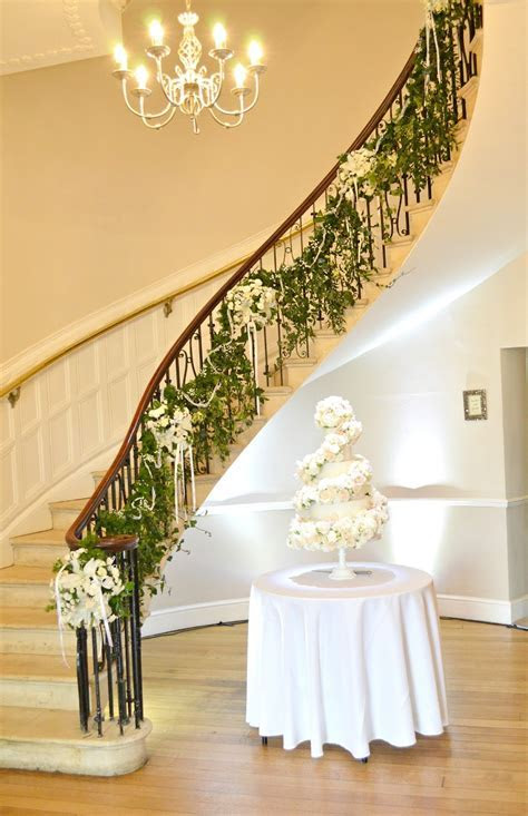 Eastington Park Manor House 6 tier Ivory Rose and Orchids