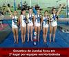 Atletas da ginástica artística de Jundiaí terminam em 2º por equipes em Hortolândia