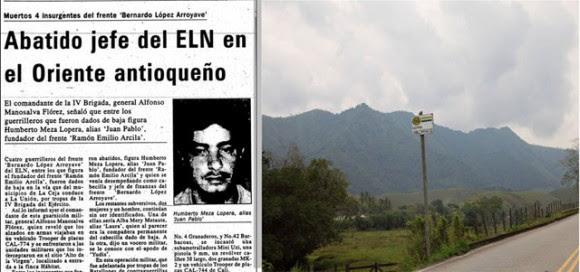 En 1995 guerrilleros del ELN, quemaron la hacienda Las Guacharacas, se robaron ganado y caballos.