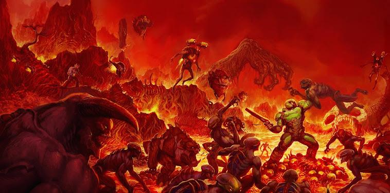 Doom Wallpaper 4k