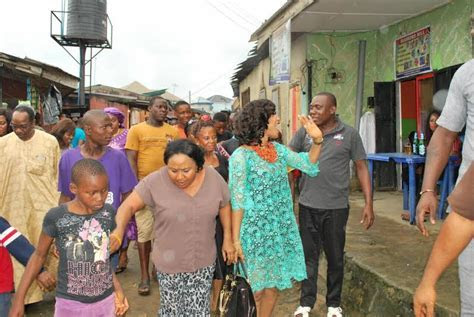 Tonto Dikeh Shows Off Father & Step Mother During Marriage