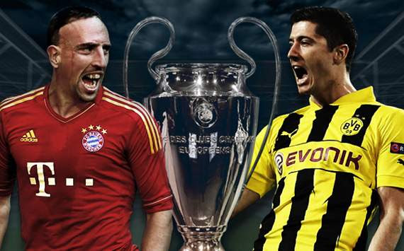 Bayern Munich - Dortmund (Champions League final)
