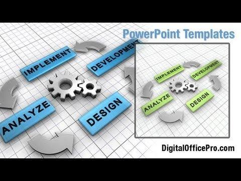 Organogram PowerPoint Template Backgrounds - DigitalOfficePro ...