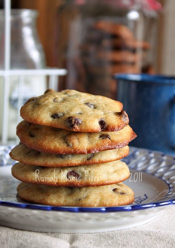 Banana Chocolate Chips Cookies by Fitri D. // Rumah Manis