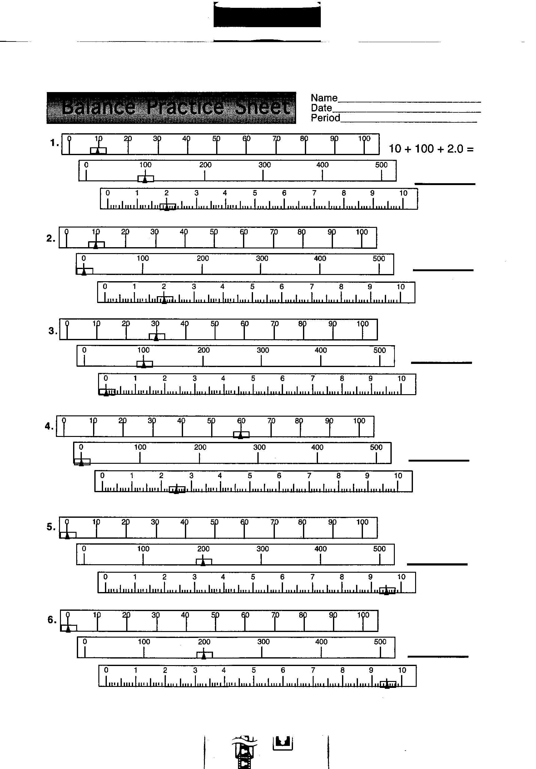Using A Balance Scale Worksheet Worksheet List [ 2464 x 1716 Pixel ]