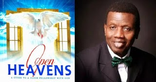Open Heaven for Today 1 December 2017: Friday daily devotional by Pastor E. A. Adeboye –Hold the fort