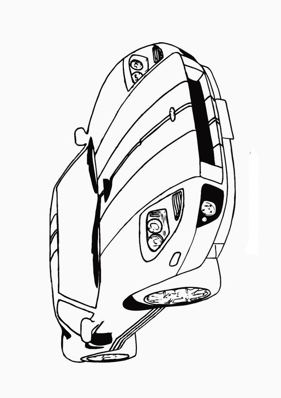 Ausmalbilder Auto, bild Der Lamborghini