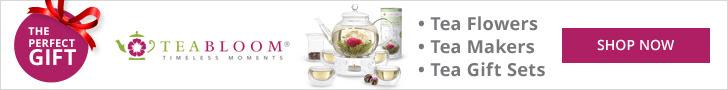 Teabloom Flowering Teas and Blooming Tea Gift Sets