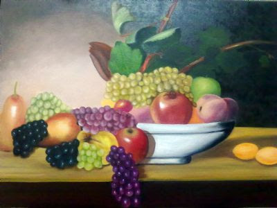 Sehertokay Meyve Tabağı Art Academy Resim Detay