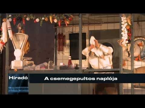 A Zalaegerszegi Televízió beszámolója a Csemegepultos... vendégjátékáról