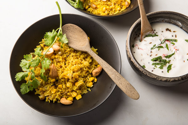 Spiced Basmati Rice and Sweet Corn Pilaf Recipe - NYT Cooking