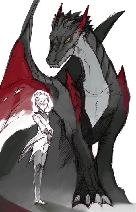 dragons au rwby pinterest rwby dragons  anime