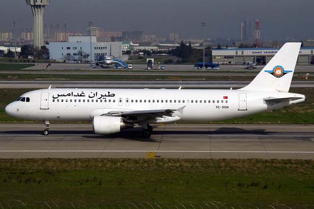 Ghadames Libya's previous A320 TC-SGN