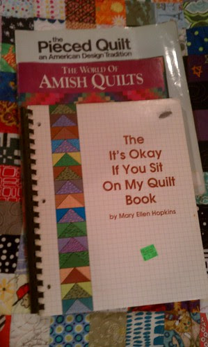 3 new to me quilt books. by aviva_hadas (Amy)