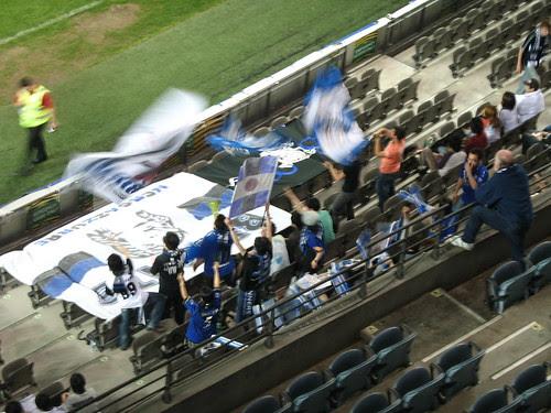 Gamba Osaka fans in full voice